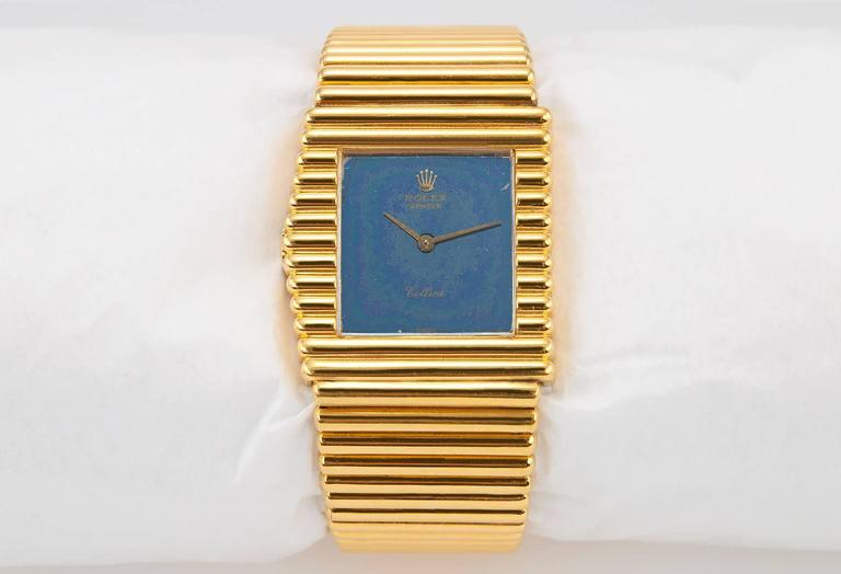 Rolex Yellow Gold Cellini Wristwatch Ref 4015 4