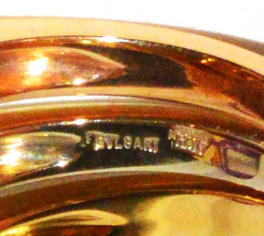 Bulgari TriColor Gold Ring 2