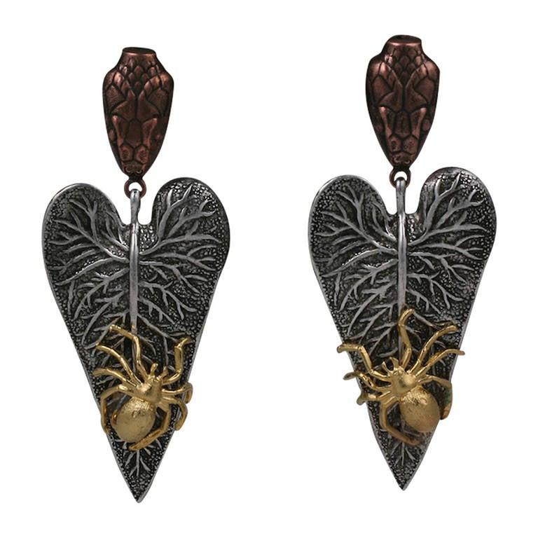 Naturalist Earrings, MWLC For Sale