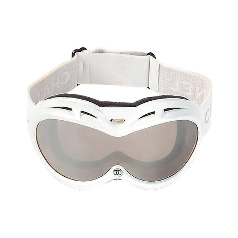 f60705db4314 Chanel Vintage Ski Goggles at 1stdibs