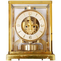 Beautiful Vintage Jaeger-LeCoultre Baby Atmos Clock 526-5