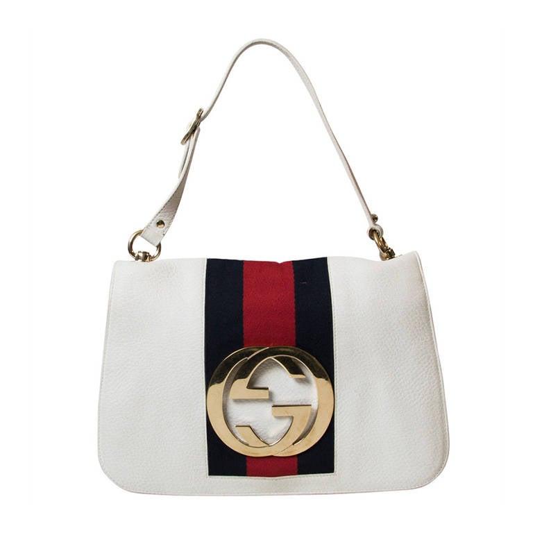 Gucci Gold GG Shoulder Bag 1