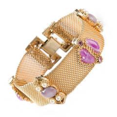 1950's Vintage Embellished Bracelet