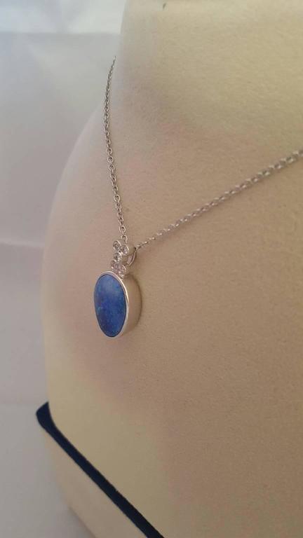 Opal and Diamond Pendant 3