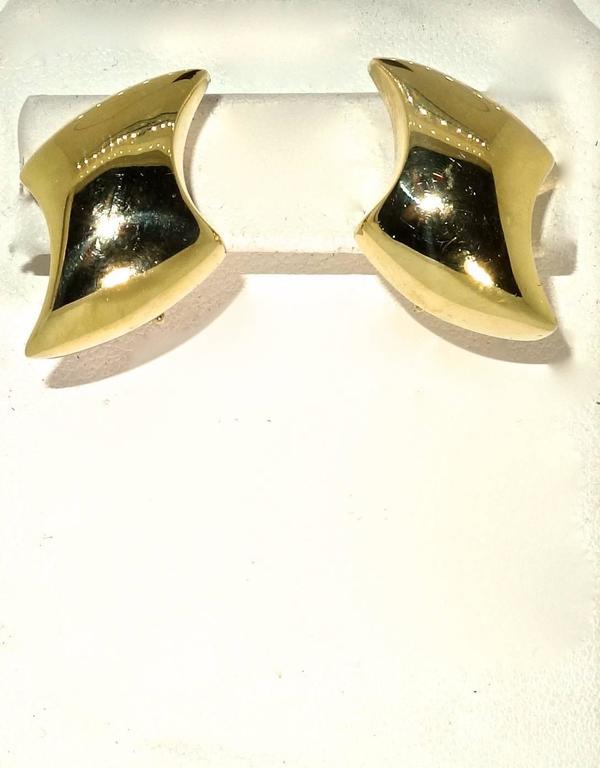Gold Earrings 2