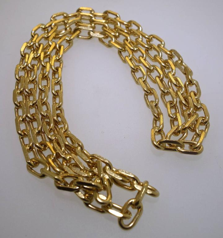 Long Gold Chain 3