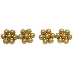 Buccellati gold cufflinks