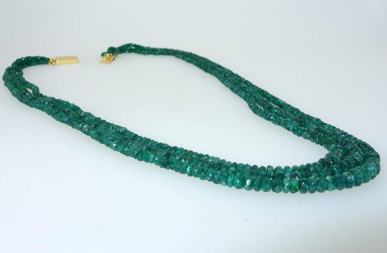 Emerald Bead Necklace 3