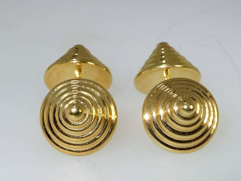Unusual Cartier Cufflinks 3