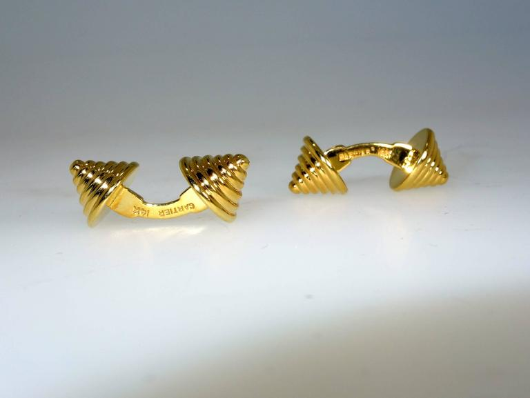 Unusual Cartier Cufflinks 4