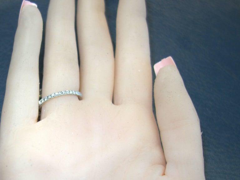 Peridot, Ruby and Diamond Handmade Platinum Ring For Sale 3