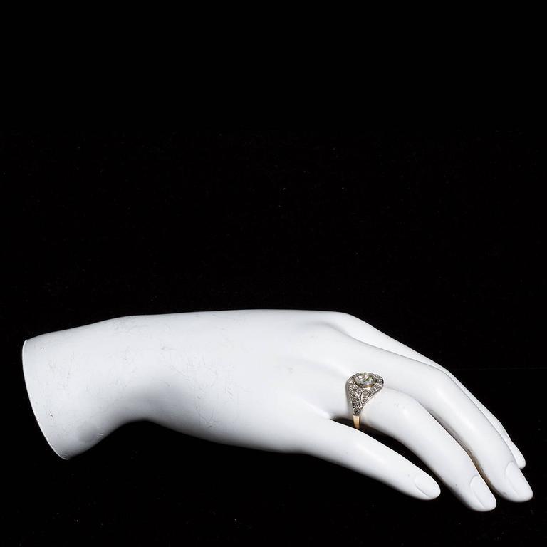 David Webb Enamel Gold Lion Ring For Sale 1