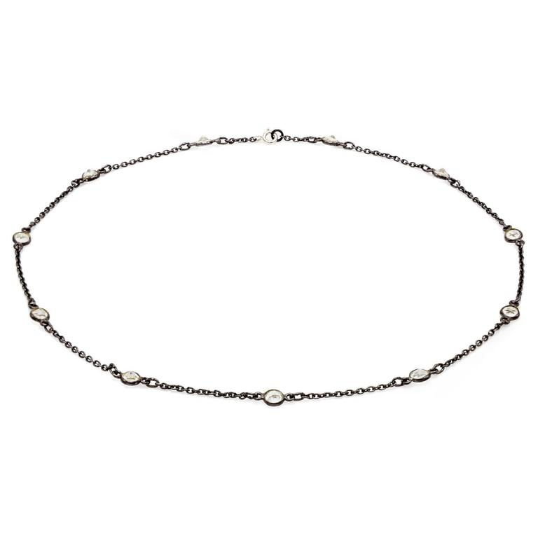 how to clean sterling silver necklace chain