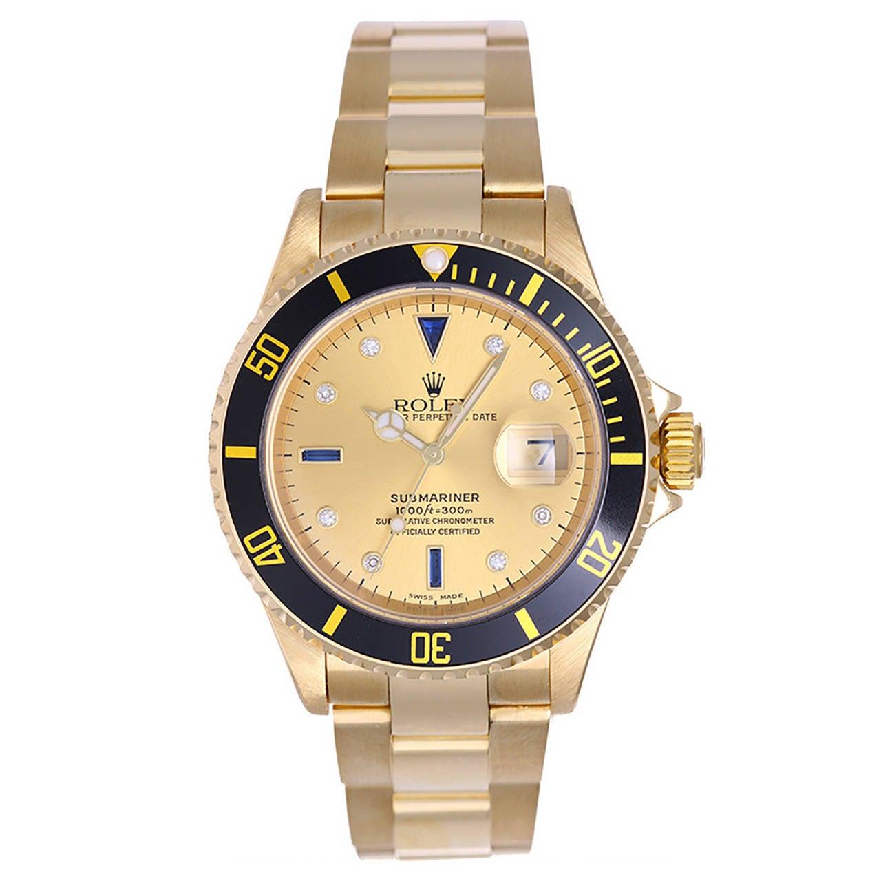 Rolex Submariner Diamond Dial For Sale