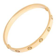 Cartier Gold Love Bracelet