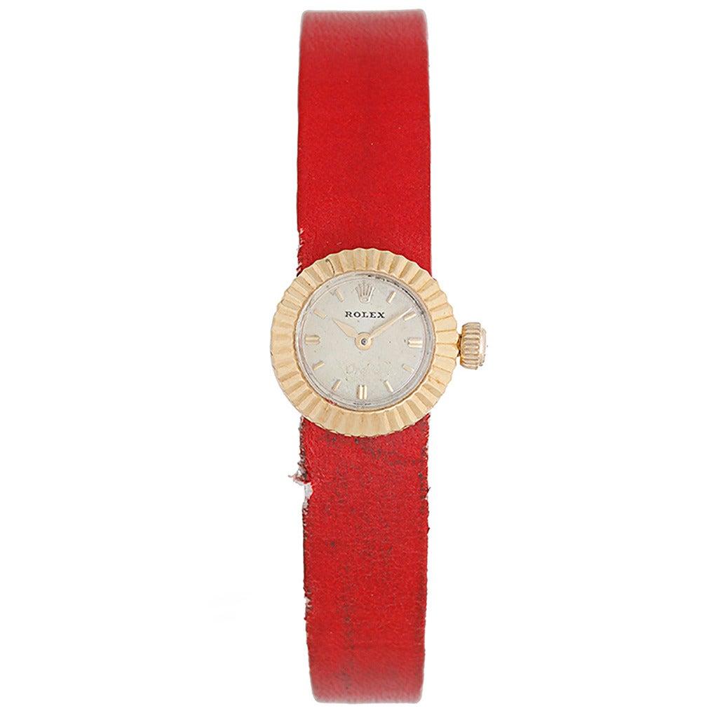 Rolex Lady's Orchid Chameleon Wristwatch Circa 1962 Ref 2059 1
