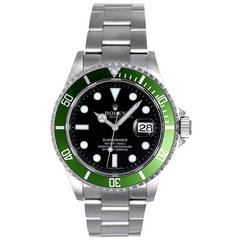 "Rolex Submariner ""Green"" Anniversary Edition Men's Watch 16610LV (or 16610 LV)"