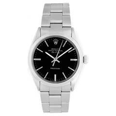 Vintage Rolex Air-King Men's Stainless Steel Oyster Perpetual Watch 5500