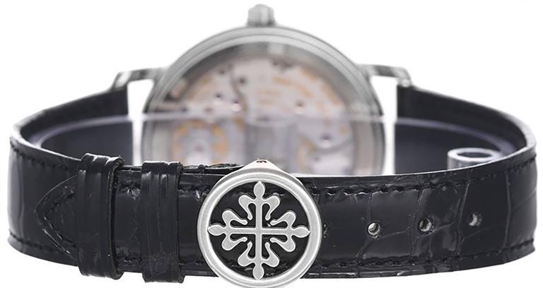 Patek Philippe White Gold Annual Calendar Automatic Wristwatch  2