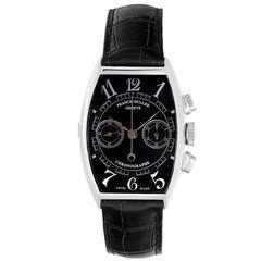 Franck Muller Chronograph White Gold Men's Watch 5850 CC