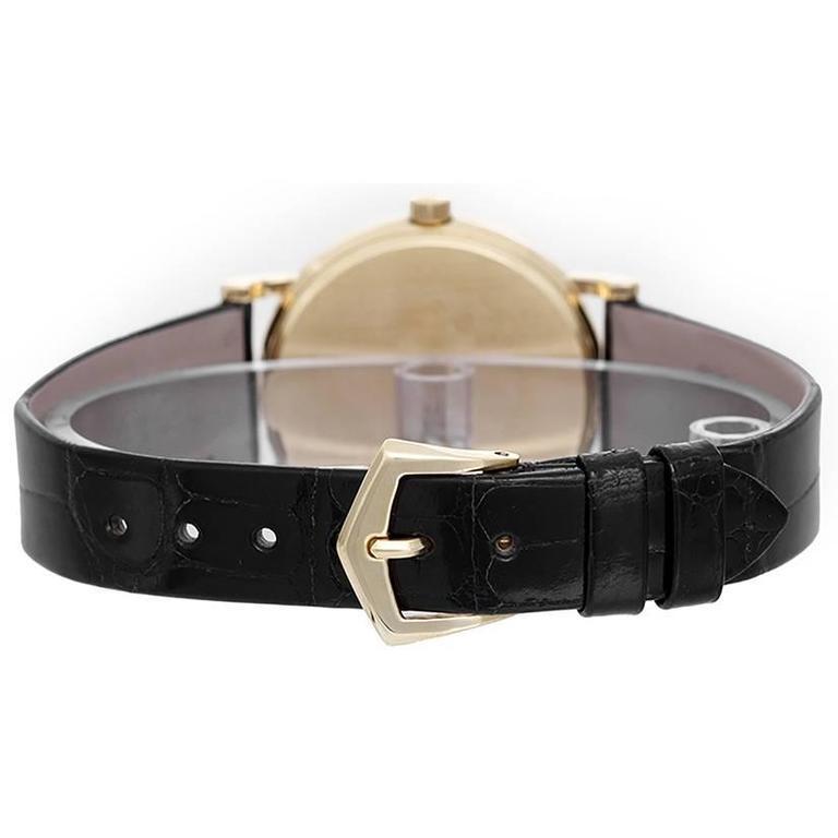 Patek Philippe White dial Calatrava Automatic Wristwatch 2