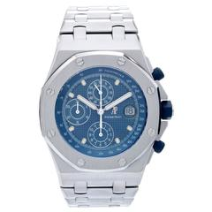 Audemars Piguet Royal Oak Offshore Chronograph Stainless Steel Men's Watch 25721