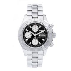 Breitling Stainless Steel Aeromarine Superocean 288 Chronograph Quartz Watch