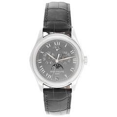 Patek Philippe Platinum Annual Moonphase Automatic Wristwatch 5056P or 5056-P