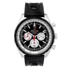 Breitling Stainless Steel Chronomatic Automatic Wristwatch