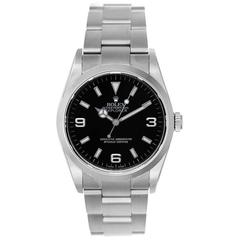 Rolex Explorer Stainless Steel Men's Watch 114270