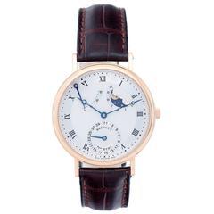Breguet Classique Moonphase Power Reserve Rose Gold Men's Watch 3137BR11/98