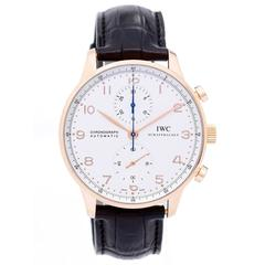 IWC Portuguese Chronograph Rose Gold Wristwatch