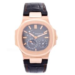 Patek Philippe & Co. Nautilus Rose Gold Automatic Wristwatch Model 5712R