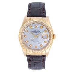 Rolex Yellow Gold Datejust Automatic Wristwatch Ref 116138