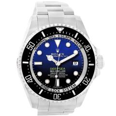 Rolex Stainless Steel Sea Dweller-Deepsea Blue Wristwatch Ref 116660