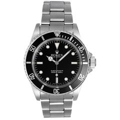 Rolex Stainless Steel Submariner Automatic Wristwatch Model 4060