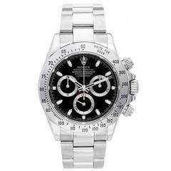 Rolex Stainless Steel Cosmograph Daytona Automatic Wristwatch Ref 116520