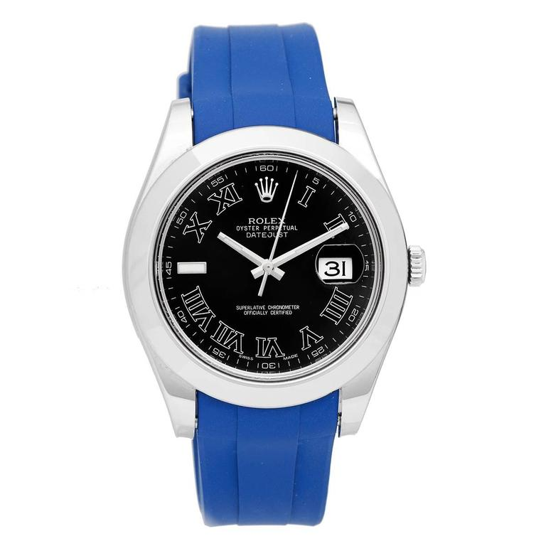 Rolex Stainless Steel Datejust II Automatic Wristwatch Ref 116300 1