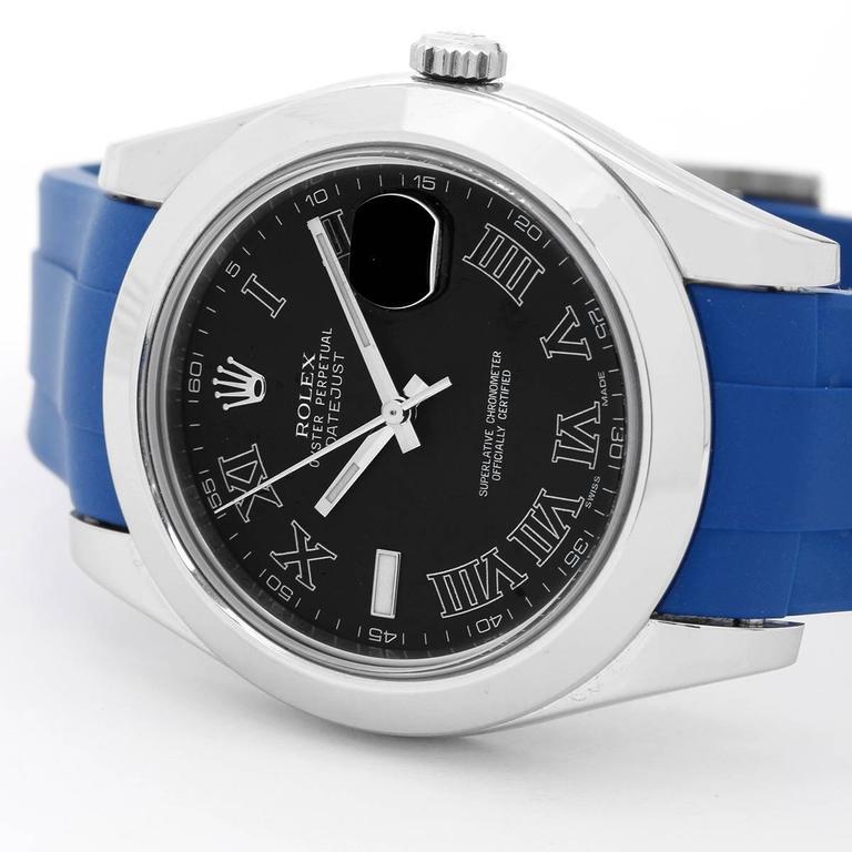 Rolex Stainless Steel Datejust II Automatic Wristwatch Ref 116300 3