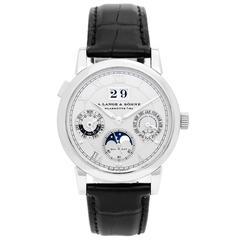 A. Lange & Sohne Platinum Langematik Perpetual Wristwatch Ref 310.025