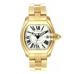 Cartier Yellow Gold Roadster tonneau Automatic Wristwatch