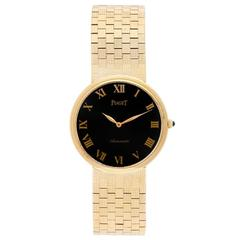 Piaget Yellow Gold Automatic Dress Wristwatch