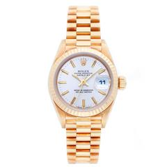 Rolex Ladies President Yellow Gold Automatic Wristwatch Ref 69178