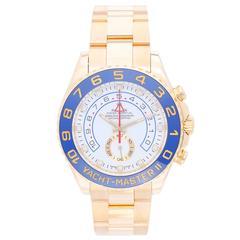 Rolex Yellow Gold Yacht-Master II Regatta Automatic Wristwatch Ref 116688