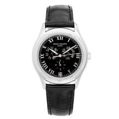 Patek Philippe Platinum Annular Calendar Automatic Wristwatch Ref 5035P