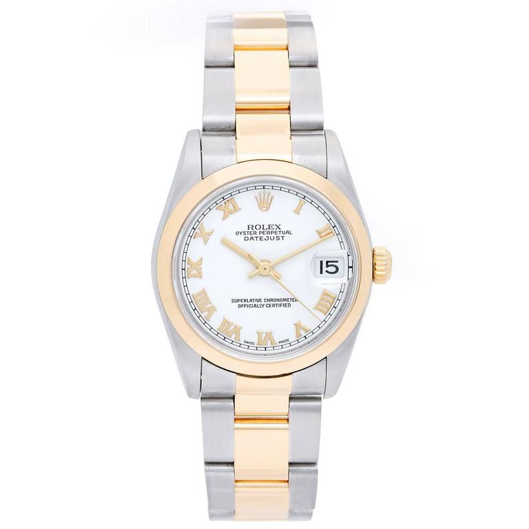 Rolex Datejust Midsize Two-Tone Watch 178243