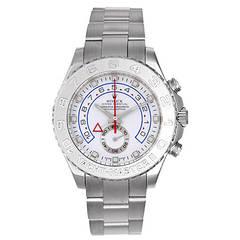 Rolex White Gold Yacht-Master II Regatta Wristwatch Ref 116689