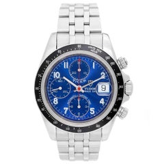 Tudor Stainless Steel Tiger Woods Prince Chronograph Automatic Wristwatch