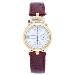 Jaeger-LeCoultre Yellow Gold Odysseus Chronograph Quartz Wristwatch