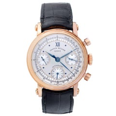 Franck Muller Rose Gold Chronograph 7000 CC Automatic Wristwatch